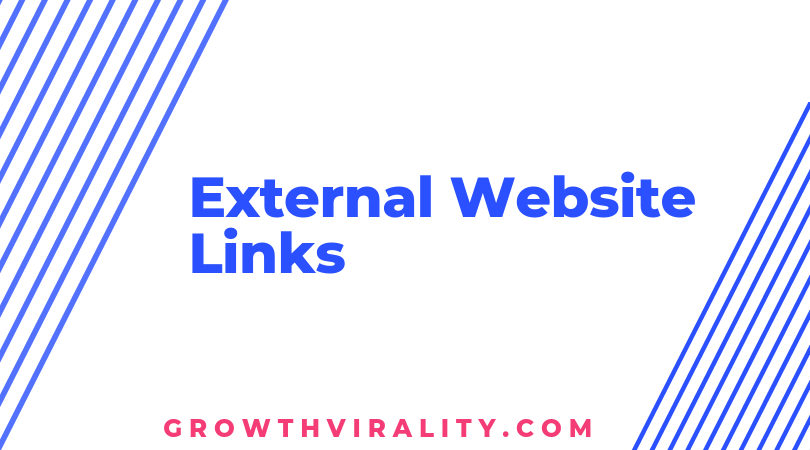 external website links