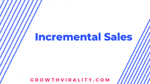 incremental sales