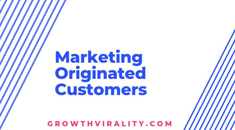 marketing originated content
