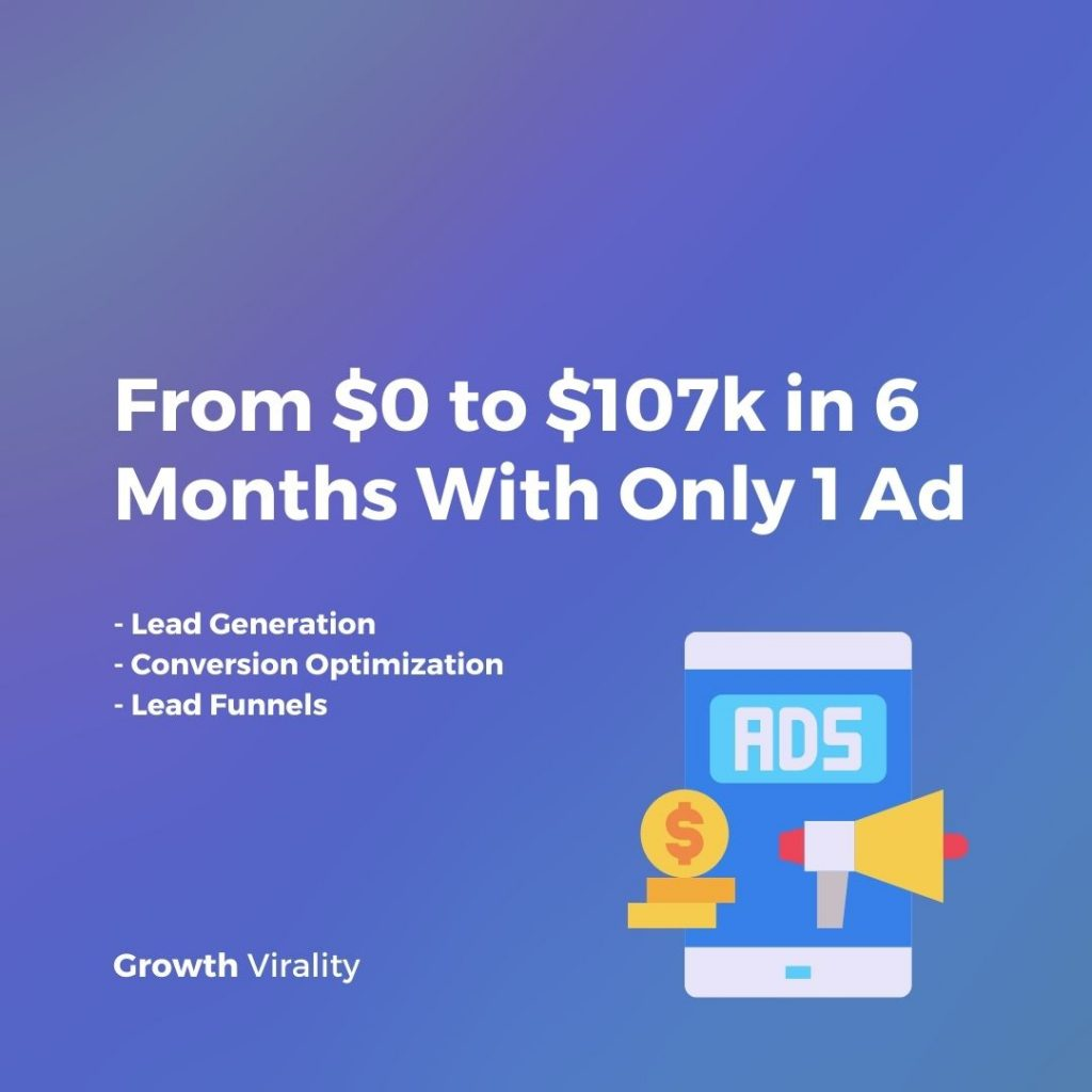 how to scale your revenue with 1 ad